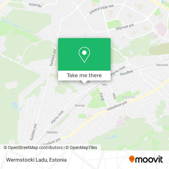 Wermstocki Ladu map