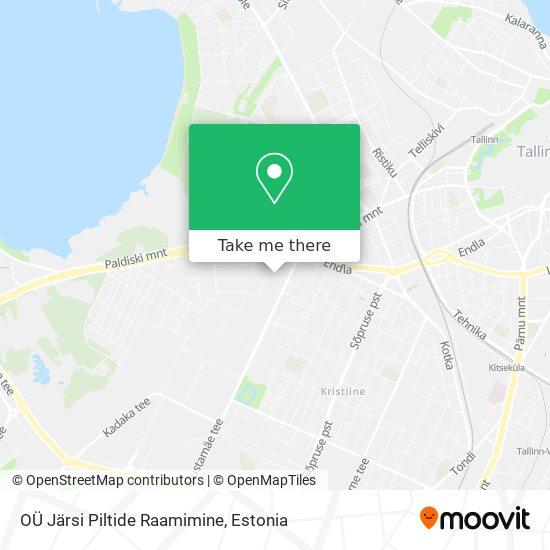 OÜ Järsi Piltide Raamimine map