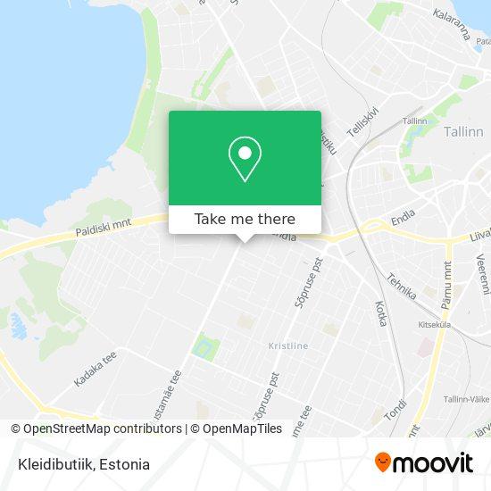 Kleidibutiik map