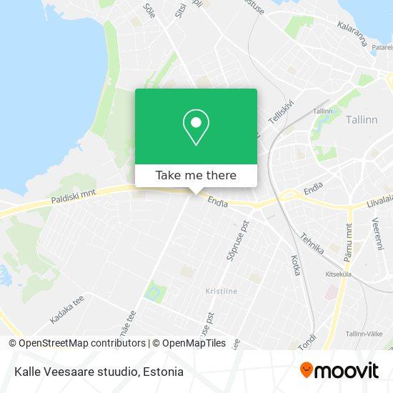 Kalle Veesaare stuudio map