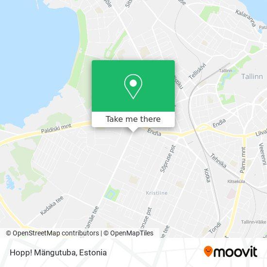 Hopp! Mängutuba map