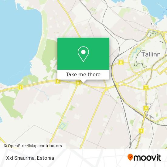 Xxl Shaurma map