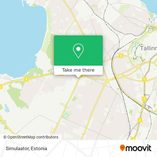 Simulaator map