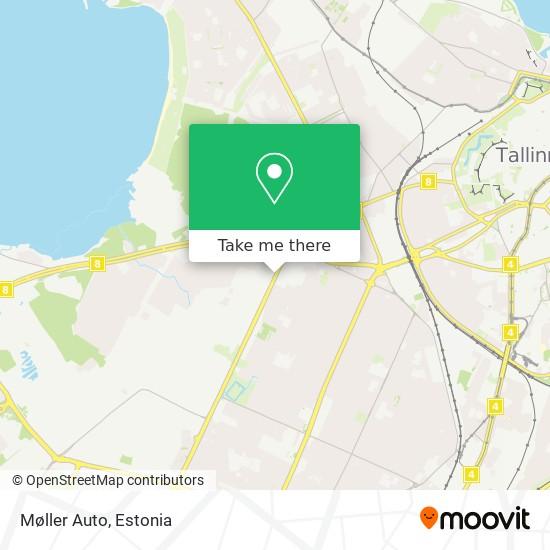 Møller Auto map