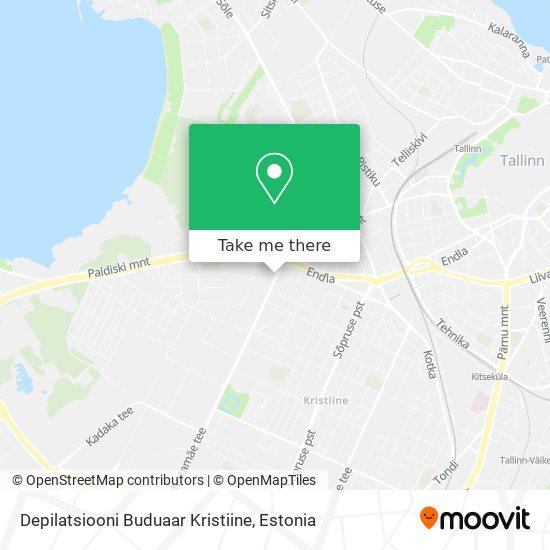 Depilatsiooni Buduaar Kristiine map