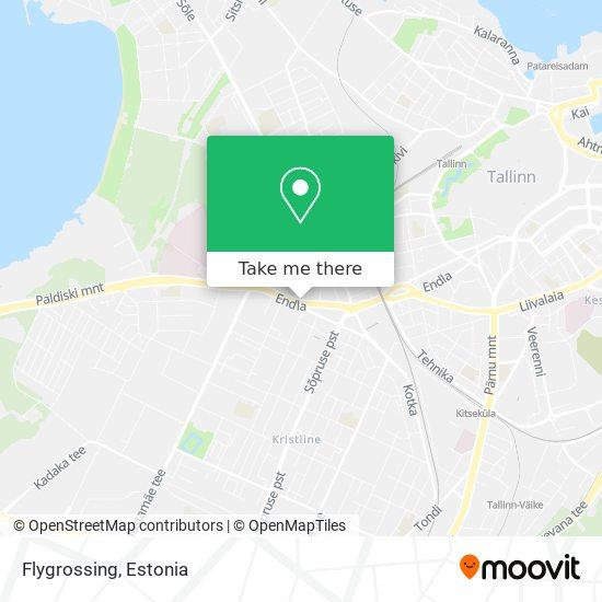 Flygrossing map