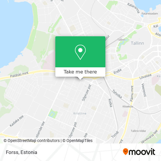 Forss map