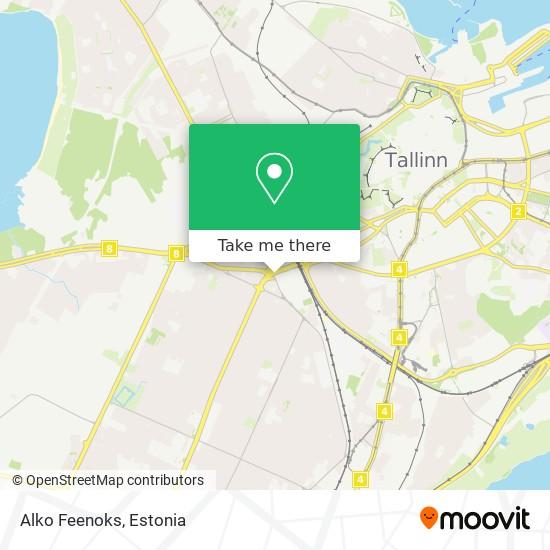 Alko Feenoks map