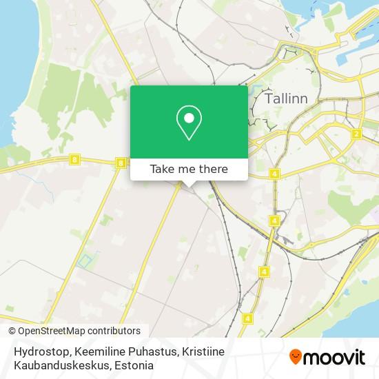 Hydrostop, Keemiline Puhastus, Kristiine Kaubanduskeskus map