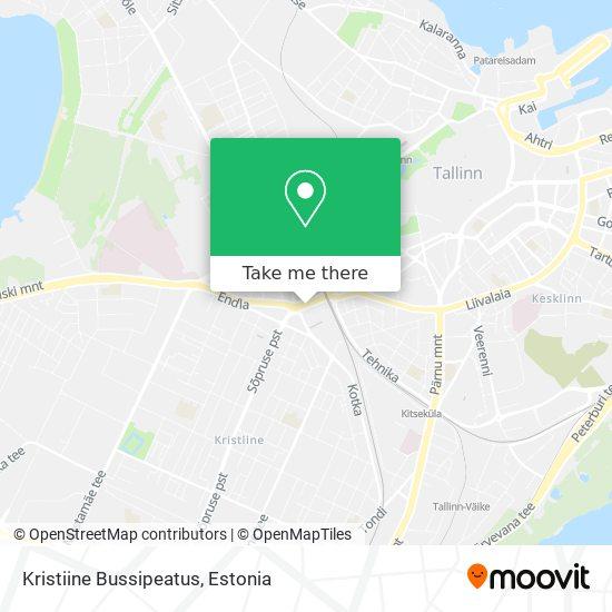 Kristiine Bussipeatus map