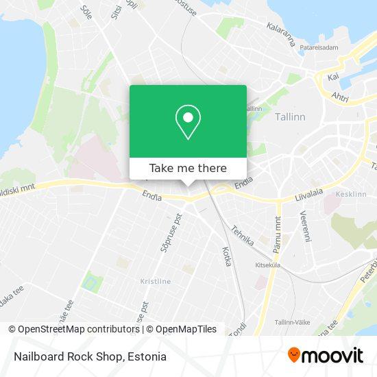 Nailboard Rock Shop map