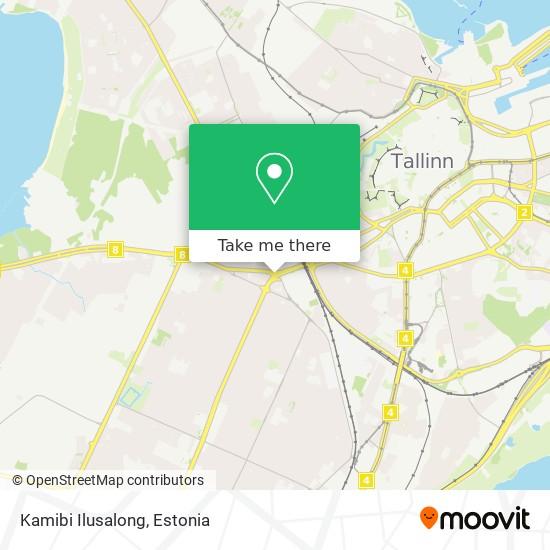 Kamibi Ilusalong map