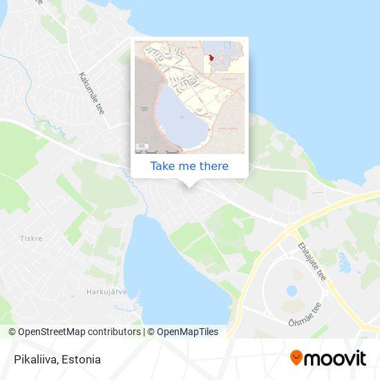 Pikaliiva map
