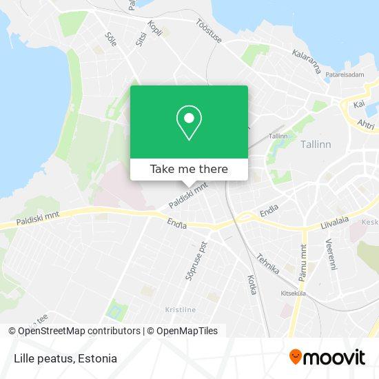 Lille peatus map