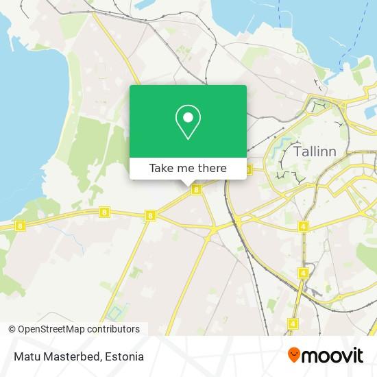 Matu Masterbed map