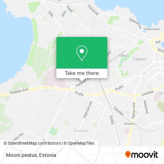 Mooni peatus map