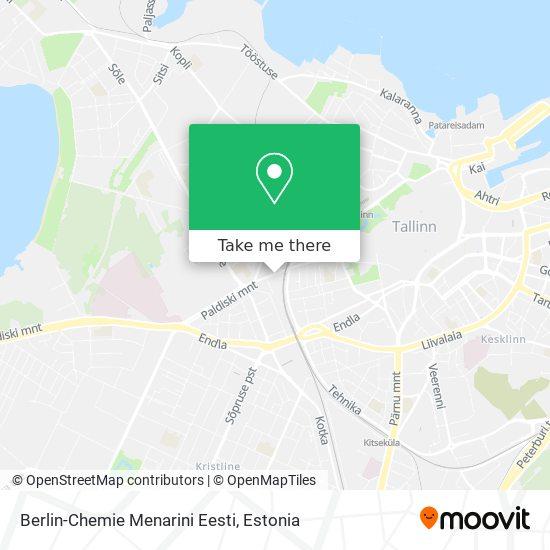 Berlin-Chemie Menarini Eesti map