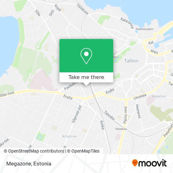 Megazone map