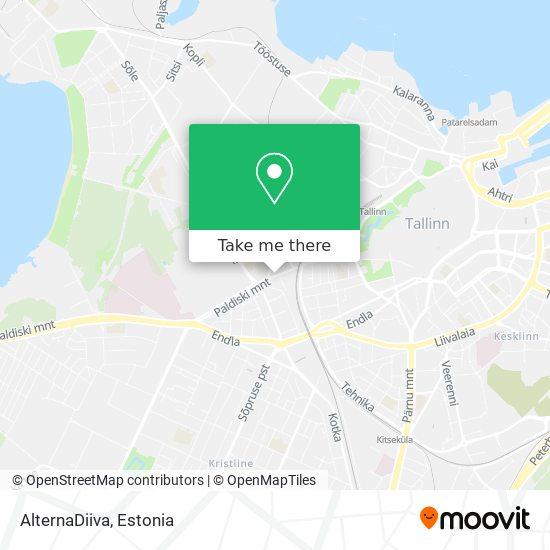 AlternaDiiva map