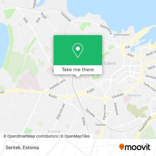 Seritek map