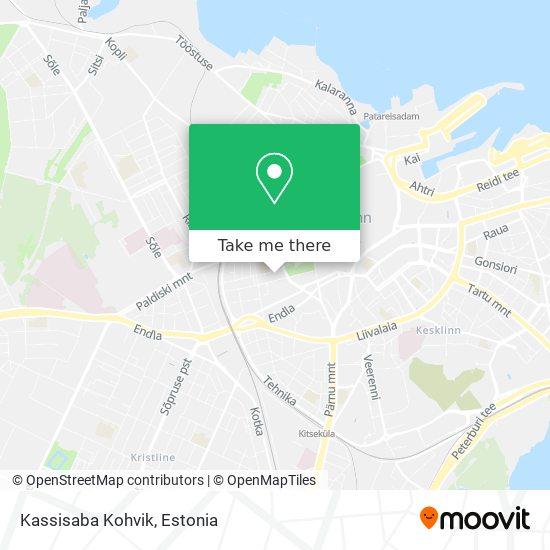 Kassisaba Kohvik map
