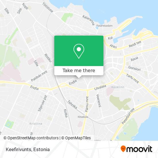 Keefirivunts map