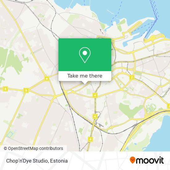 Chop'n'Dye Studio map