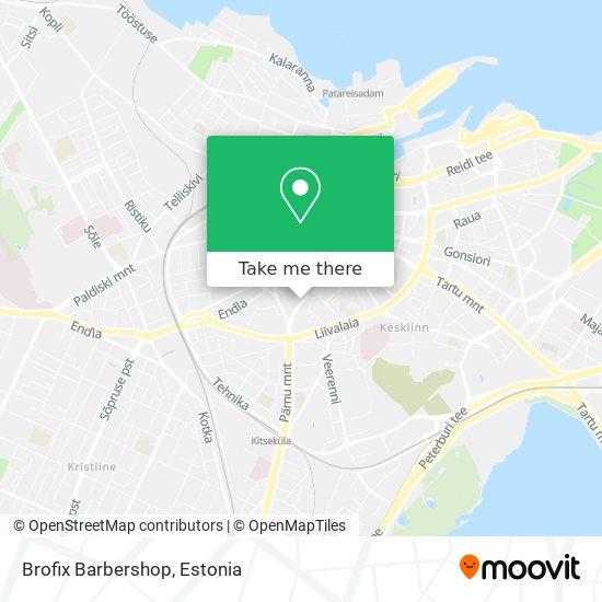 Brofix Barbershop map