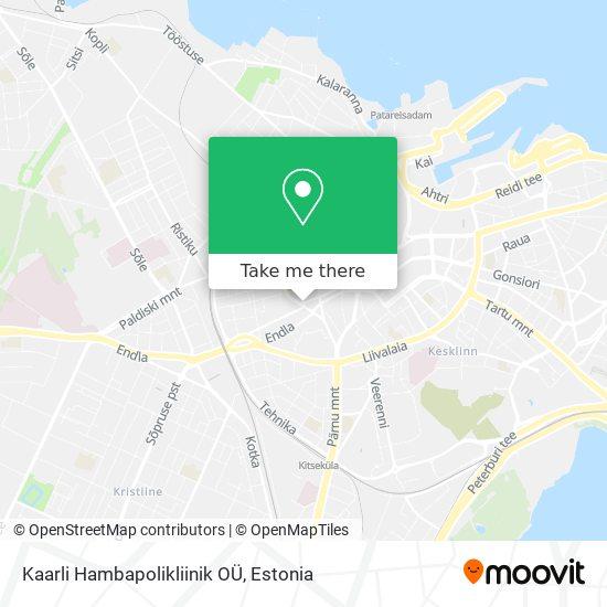 Kaarli Hambapolikliinik OÜ map