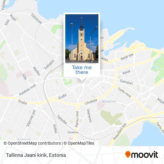 Tallinna Jaani kirik map