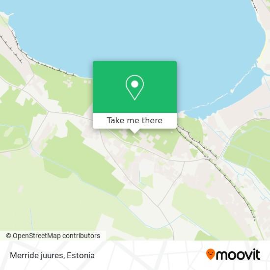 Merride juures map
