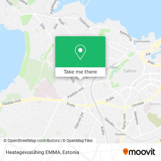 Heategevusühing EMMA map