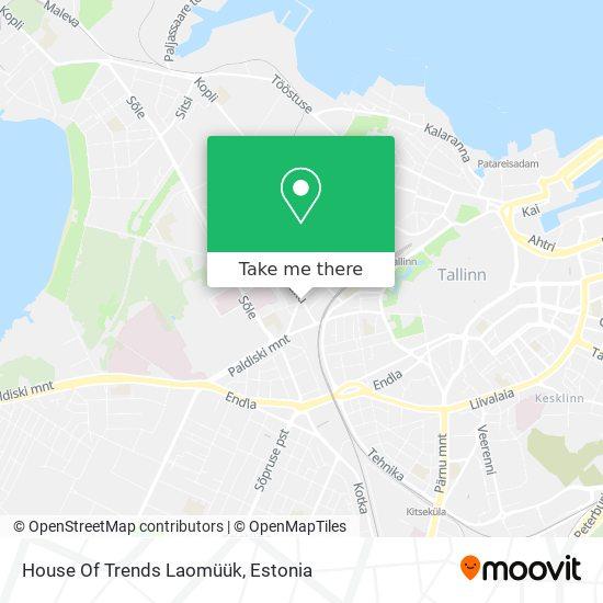 House Of Trends Laomüük map