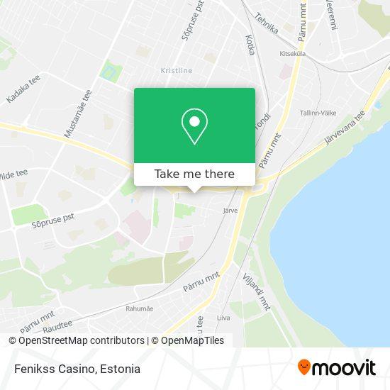 Fenikss Casino map
