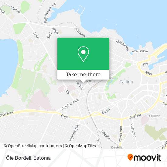 Õle Bordell map