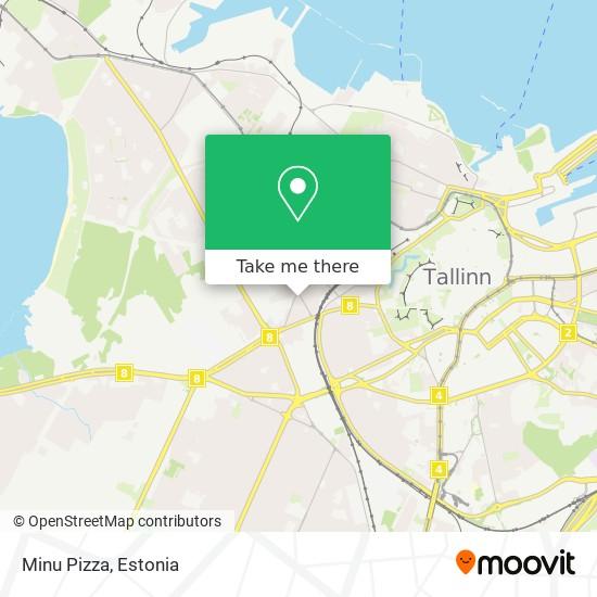 Minu Pizza map