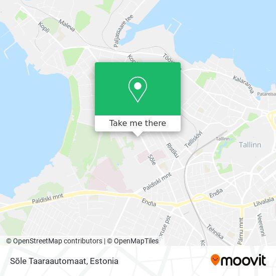 Sõle Taaraautomaat map