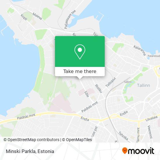 Minski Parkla map