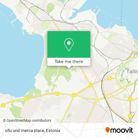 ollu und merca place map