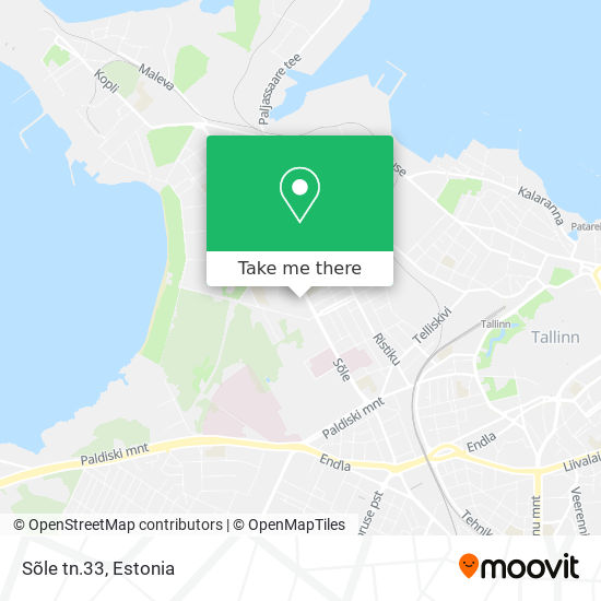 Sõle tn.33 map