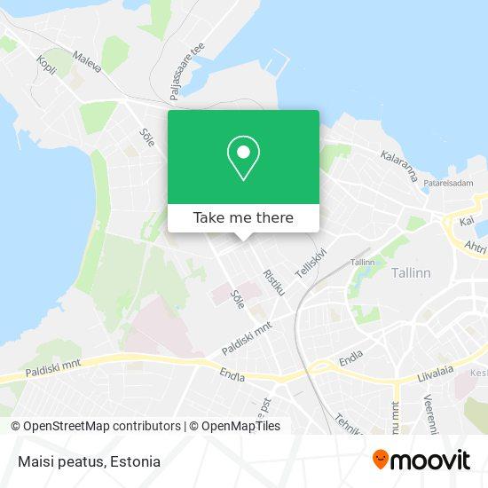 Maisi peatus map