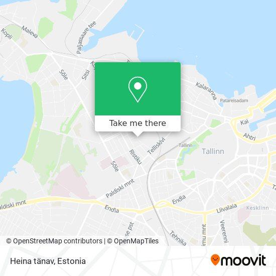 Heina tänav map
