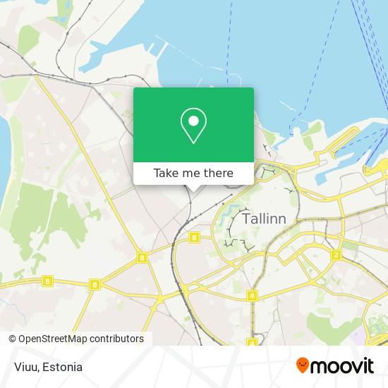 Viuu map