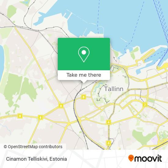 Cinamon Telliskivi map