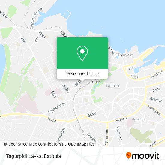 Tagurpidi Lavka map