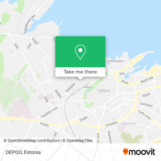 DEPOO map