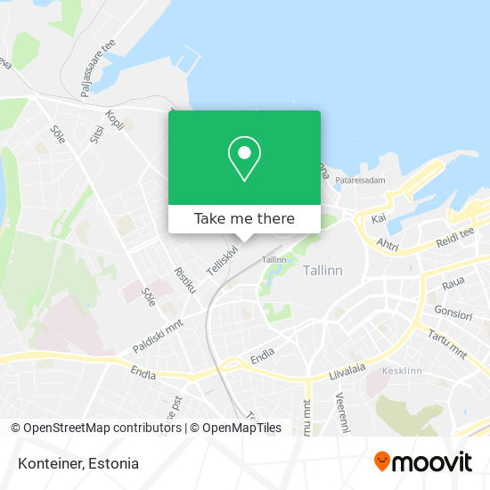 Konteiner map