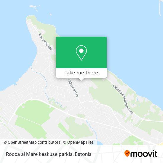 Rocca al Mare keskuse parkla map