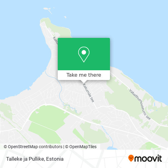 Talleke ja Pullike map