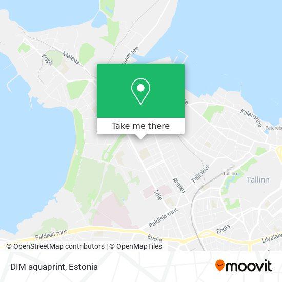 DIM aquaprint map